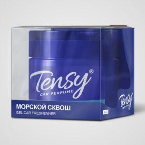 KZ-03 Ароматизатор «Tensy» «МОРСКОЙ СКВОШ» банка/ гелевая основа с пробником 60 мл.