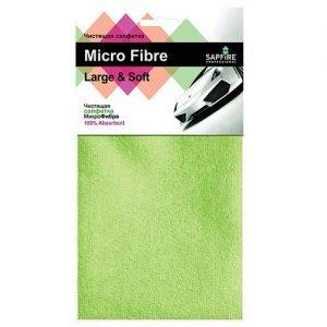 Micro Fibre Салфетка чистящая микрофибра SAPFIRES SFM 3011 Авто аксессуары