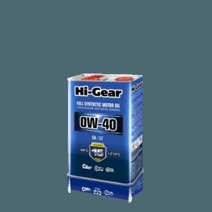 HG0044 0W-40 SN/CF  Масло моторное синтетическое. 4 литра.