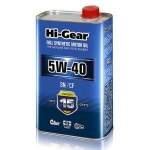 HG0540 5W-40 SN/CF  Масло моторное синтетическое. 1 литр.