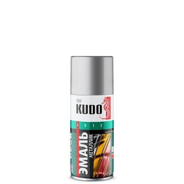 Kudo KU-1026 Эмаль металлик универсальная серебро лакокрасочные материалы