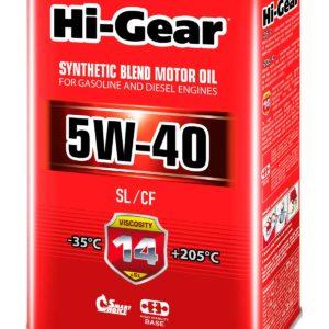 HG1144 5W-40 SL/CF  Масло моторное полусинтетическое. 4 литра.