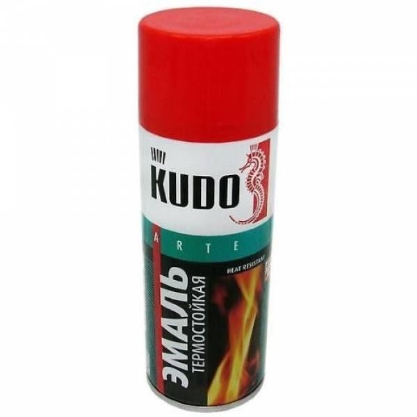 Kudo KU-5005 Эмаль термостойкая красная лакокрасочные материалы