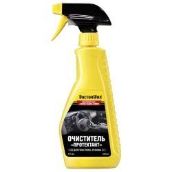 DW5232  Очиститель «Протектант» для винила, кожи, пластика, резины. Тригер. 475 мл.