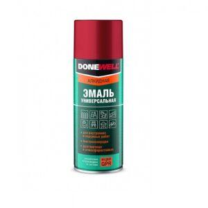 DW-1028 «DoneWell» Эмаль универсальная металлик ЗОЛОТО (520 мл/200 г)  кор. 12 шт.