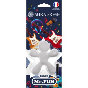 «Aura Fresh» Ароматизатор MR FUN Black (кор. 36 шт.)