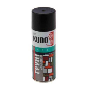 KU-2003 «Kudo» Грунт алкидный ЧЁРНЫЙ (520 мл/270 г) кор. 12 шт.