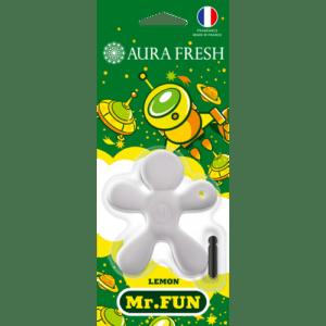 «Aura Fresh» Ароматизатор MR FUN Lemon (кор. 36 шт.)