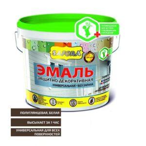 «Safora» Эмаль для радиаторов отопления акриловая 0,8 кг