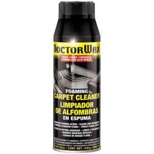 DW5207S «Doctor Wax» Пенный очиститель для тканной и ковровой обивки 510 гр