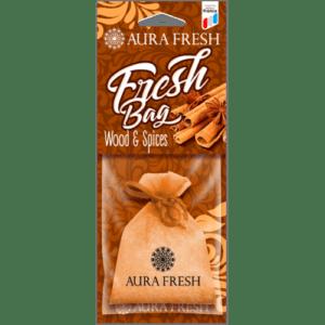 «Aura Fresh» Ароматизатор FRESH BAG Wood&Spices (кор. 20 шт.)