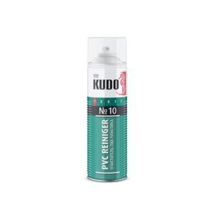 «Kudo» Очиститель пластика ПВХ аэрозольный № 10