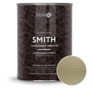 Elcon Smith 3 в 1 краски c молотковым эффектом БРОНЗА 0.8 кг