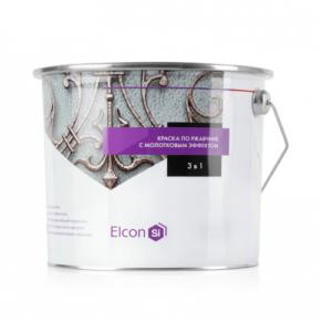 Elcon Smith 3 в 1 краски c молотковым эффектом БРОНЗА 2 кг