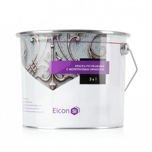 Elcon Smith 3 в 1 краски c молотковым эффектом ЗЕЛЁНАЯ 2.4 кг