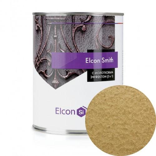 Elcon Smith 3 в 1 краски c молотковым эффектом ЗОЛОТО 0.8 кг