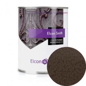 Elcon Smith 3 в 1 краски c молотковым эффектом ШОКОЛАД 0.8 кг